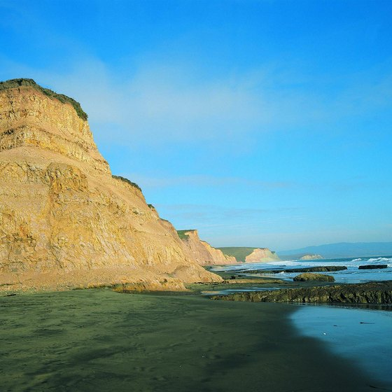 Camping at Drakes Bay in Point Reyes National Seashore requires a hike.