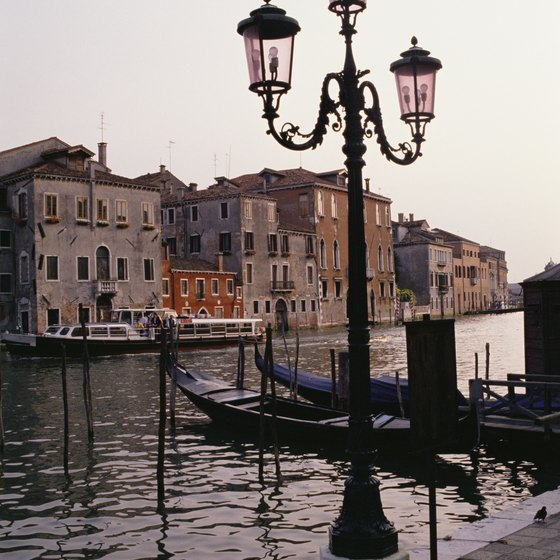 The canals of Venice provide an exquisite backdrop for meeting new people.