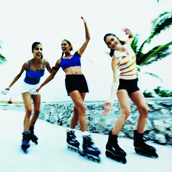 Sarasota offers several outdoor inline skating venues with spectacular views.