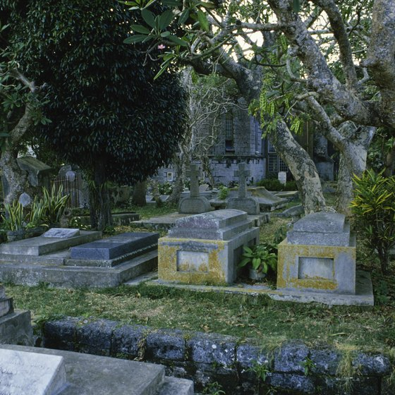 Cemeteries are tourist attractions in New Orleans.