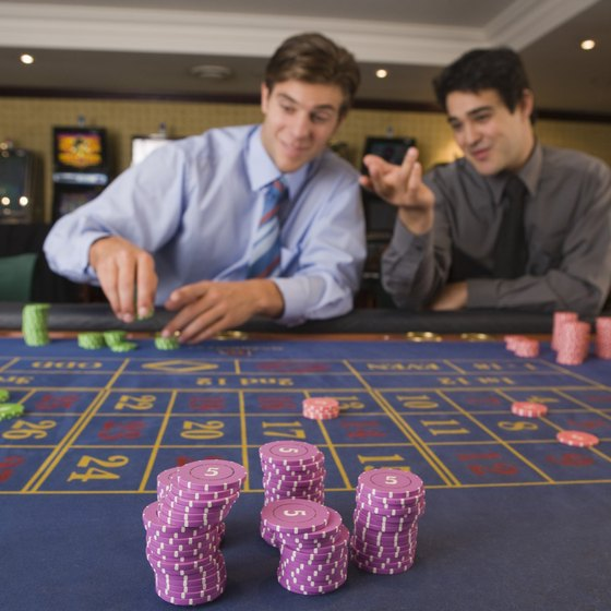 Most hotels and resorts near Long Beach, Miss., feature casinos.