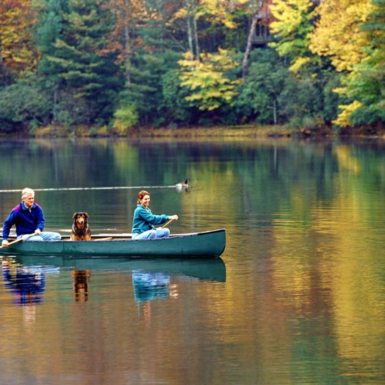A lake trip makes for a relaxing vacation during any time of year.