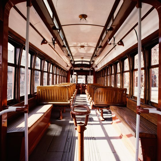 Halton County Radial Railway's collection features more than 75 historic railcars.