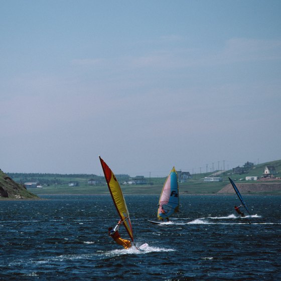 Windsurfers find an assortment of camps, competitions and retailers in Ontario, Canada.
