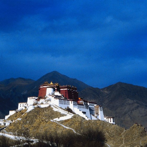 High in the Himalayas, Tibet offers a variety of stunning scenery.