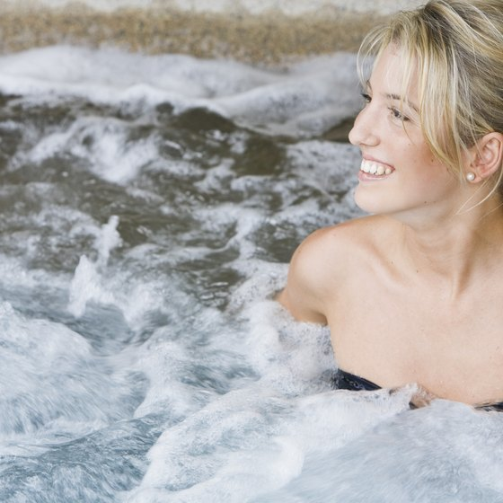 Brantford offers four lodging options with hot tubs.