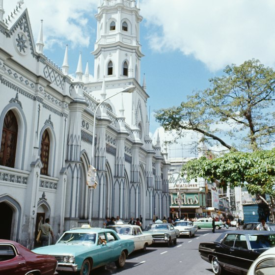 Colonial buildings are an integral part of Caracas' cultural history.