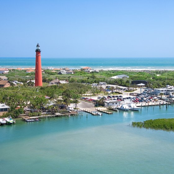 The Ponce de Leon Lighthouse is one of New Smyrna Beach's major attractions.