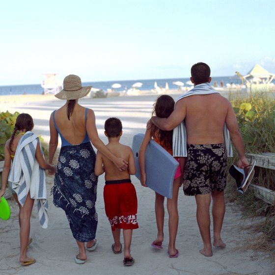 Florida's family beaches have soft sand, warm water, picnic areas and lifeguards.