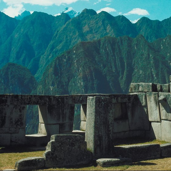 Machu Picchu is just one of many fascinating archaeological sites in Peru.