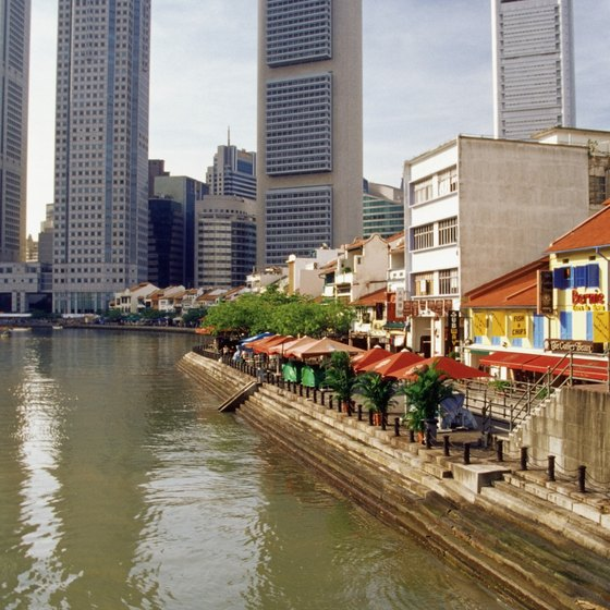 Singapore's international shipping started out along the Singapore River.