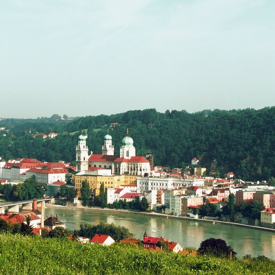 Passau retains a particularly German character.