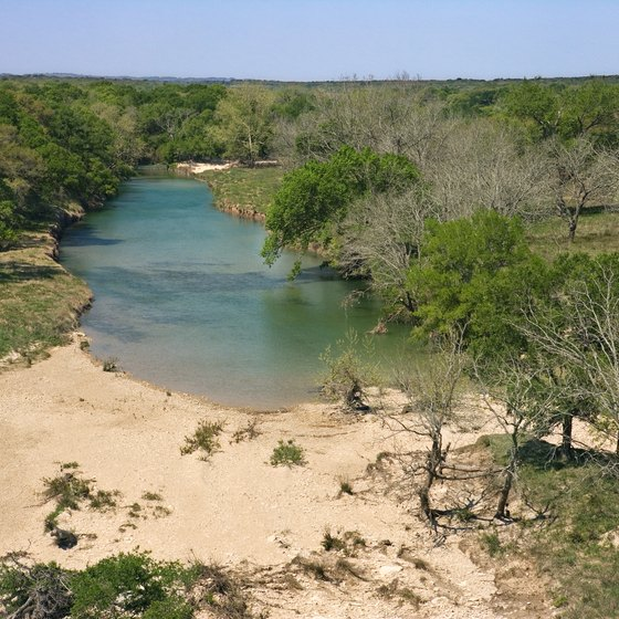 The Blanco River and Blanco State Park are not far from Honey Creek.