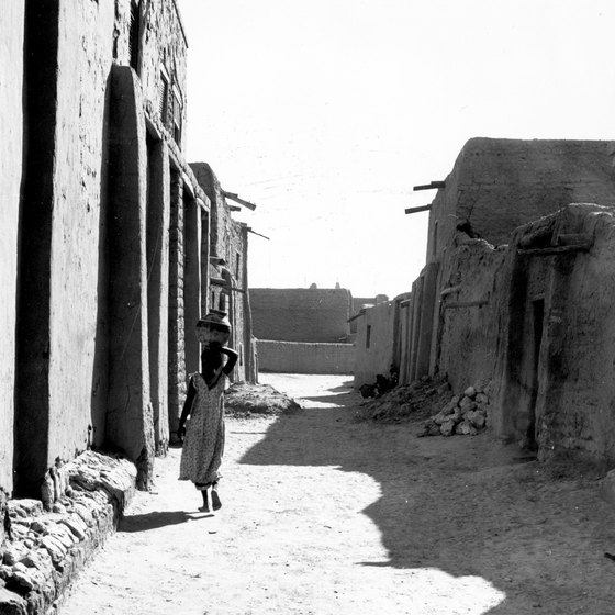 Street view of Timbuktu.