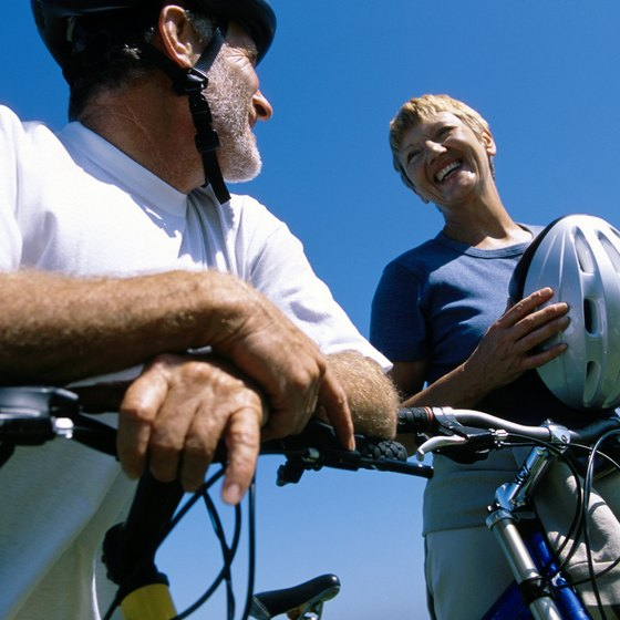 Road courses and mountain trails in Texas offer bicycle enthusiasts rides with lots of scenery.