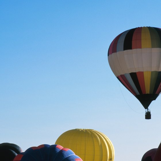Visitors come to Statesville, North Carolina, for the Carolina BalloonFest.