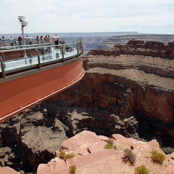 The Skywalk at the Grand Canyon gives new meaning to a scenic overlook.