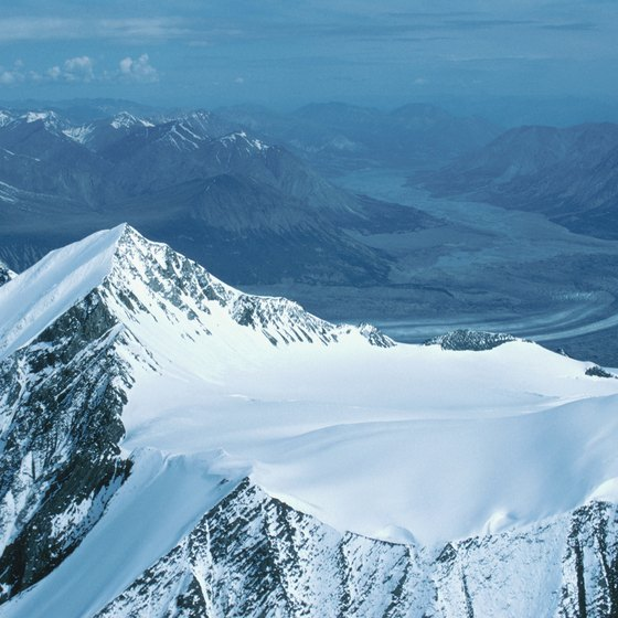 Snow covers Yukon's soaring mountaintops for much of the year.