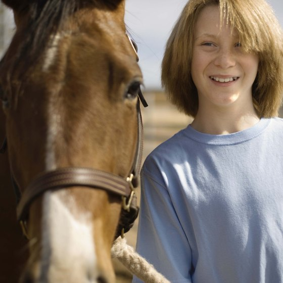 Kids can indulge their love of horses in Pine Mountain.