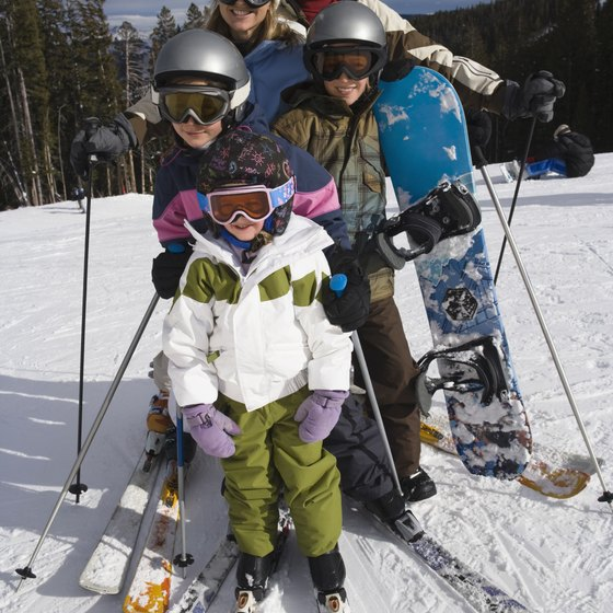 A skiing holiday can make the perfect family vacation.
