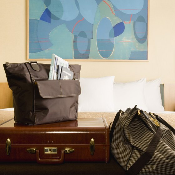 Lighten your return trip by sending your luggage ahead.