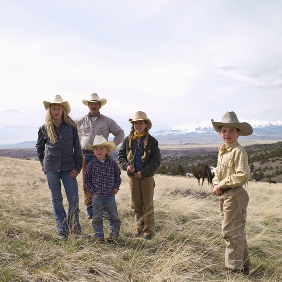 Dude ranches offer various activities like trail rides, roping and cattle drives.