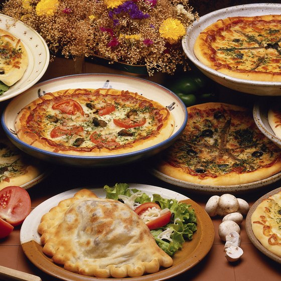 Try a variety of Italian specialties at Andover's Chateau Restaurant.