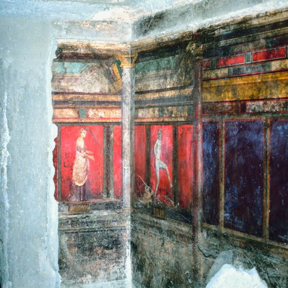 The artifacts of Pompeii were preserved by the very catastrophe that killed most of its inhabitants.