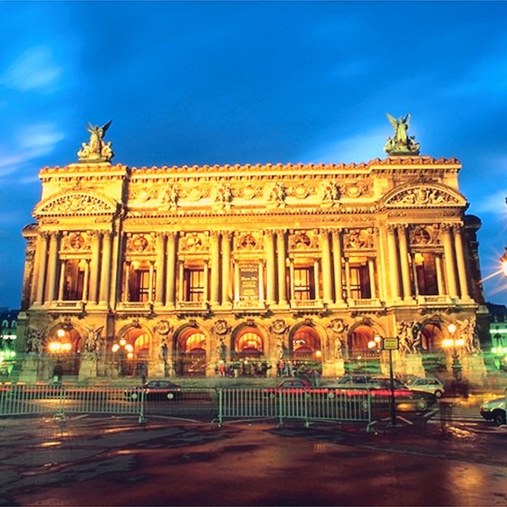 Opera Palais Garnier is a highlight of Paris sightseeing and culture.