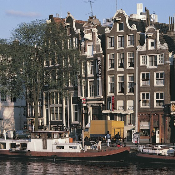 Amsterdam offers plenty of sightseeing opportunities before your river cruise departs.