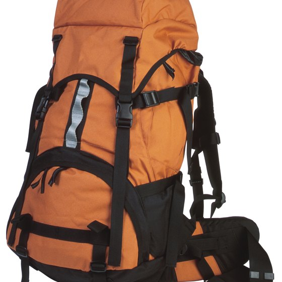 A large backpack can replace a traditional suitcase when traveling.