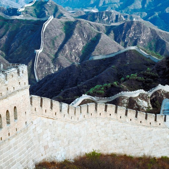 The Great Wall of China was begun in the fifth century B.C.