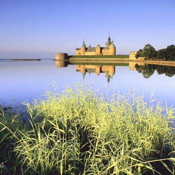 Ancient castles and fortresses dot the Swedish countryside.