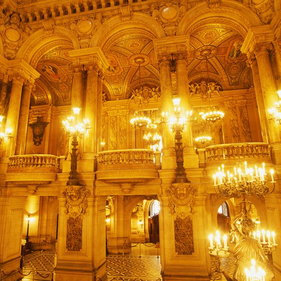 The Paris Opera House is one of the world's most famous venues.