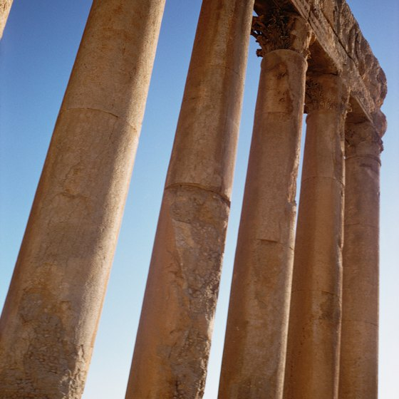 Greece is famous for its ancient ruins and architecture.
