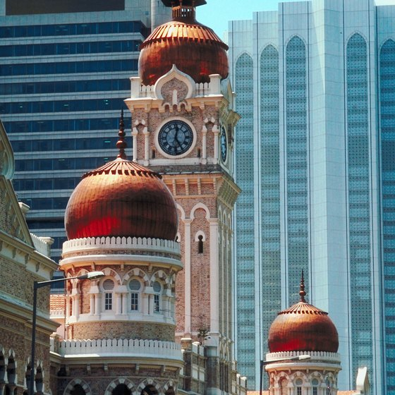 Kuala Lumpur is just one of the many sights available on a cruise to Malaysia.