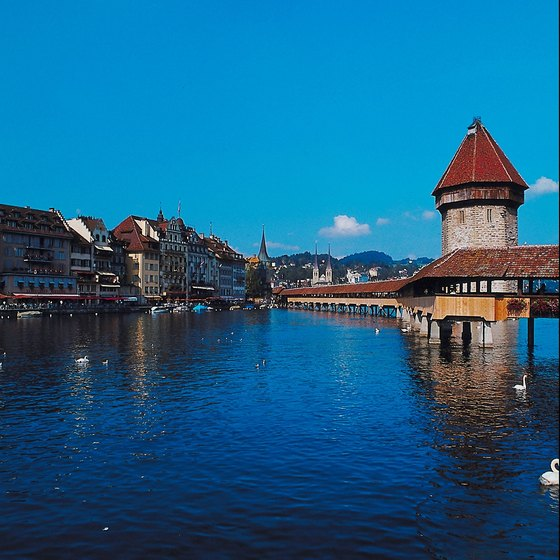 Lucerne's picturesque lakeside setting has inspired writers, artists and composers, including Mark Twain and Richard Wagner.