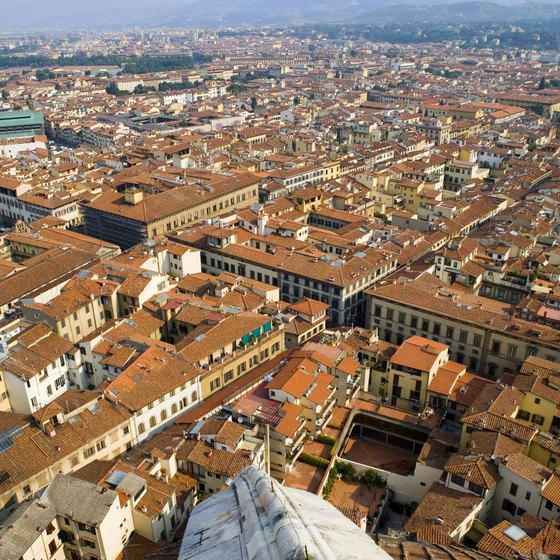 Climb to the top of the Duomo for arial views of the city center.