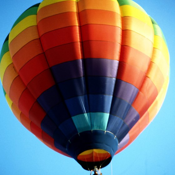 Fort Walton Beach offers romantic hot air balloon rides.