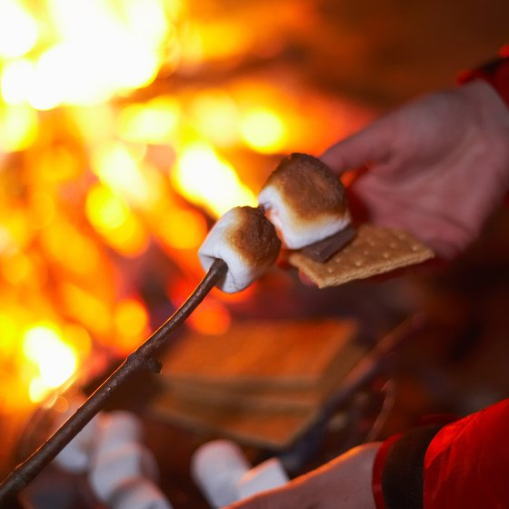 S'mores are a campfire favorite.