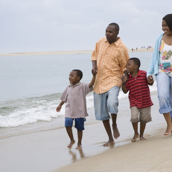 Stone Harbor, New Jersey, aims to promote family fun on the beach.