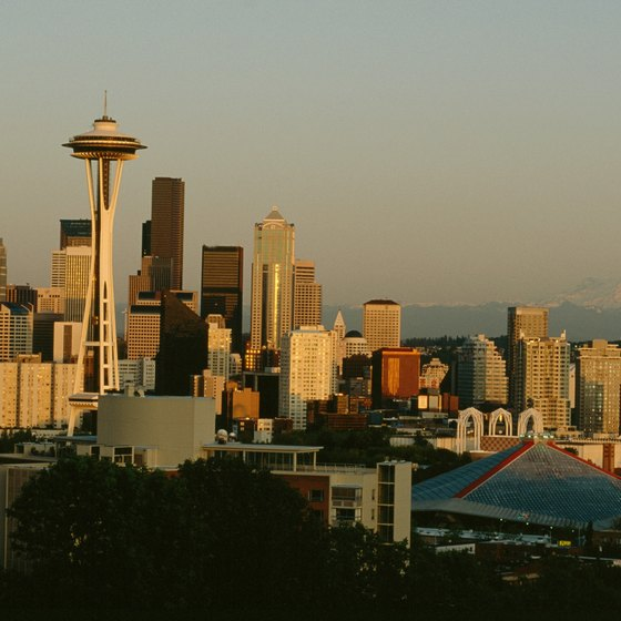 See the sights of Seattle on a trolley or bus tour.