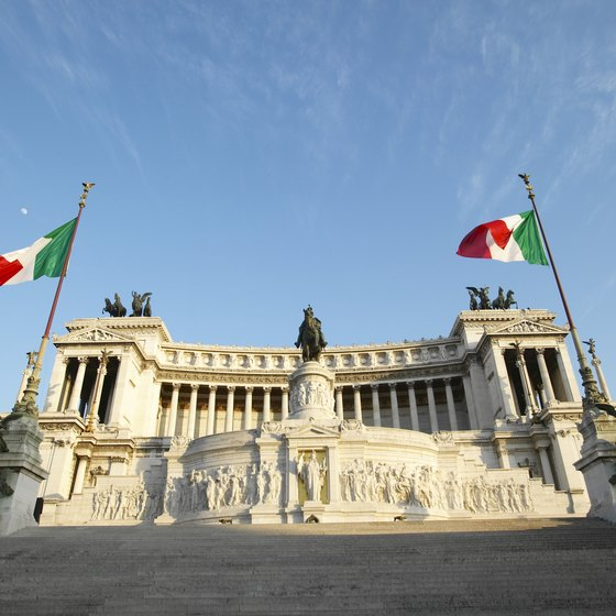 Check visa requirements before your trip to Italy.