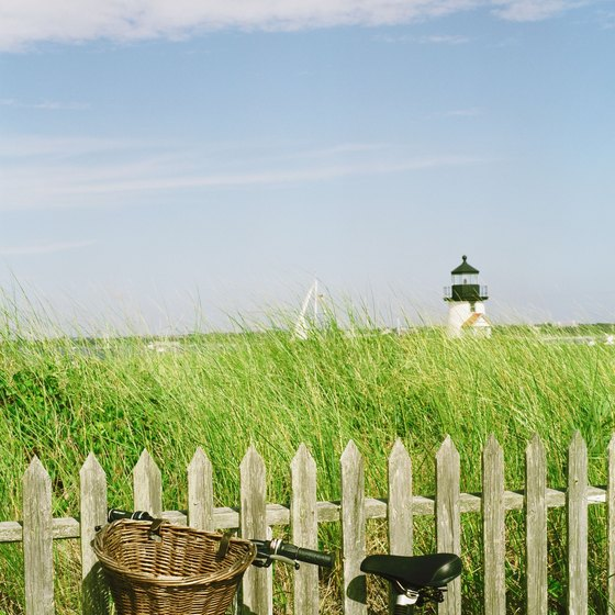 Nantucket Island, Massachusetts, has plenty of attractions that can be seen via a bus tour.