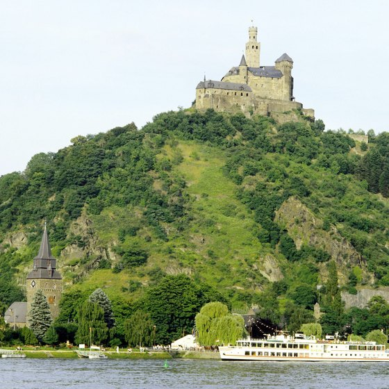 Germany and Austria are home to numerous old castles and other architectural attractions.