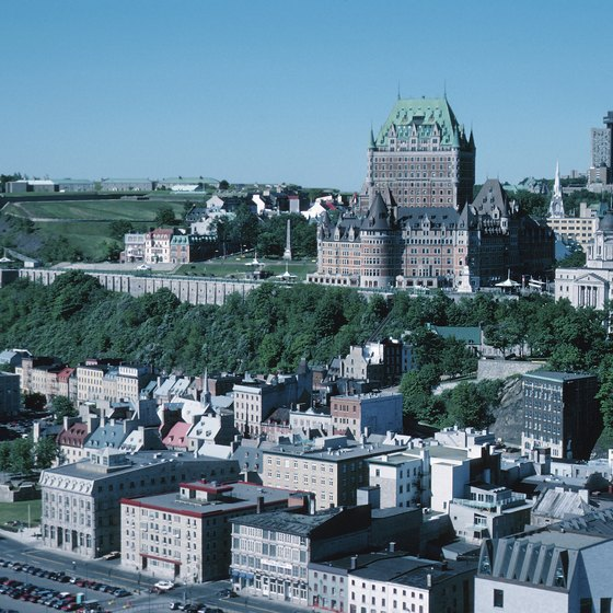 Quebec City features a wide array of revered restaurants.