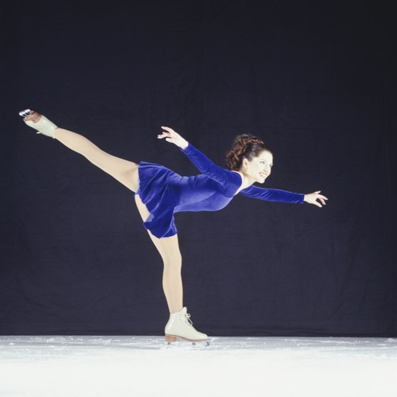 Freestyle sessions allow figure skaters time to practice their routines.