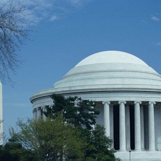 Many Washington D.C. monuments are instantly recognizable.