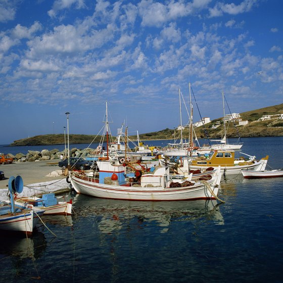 The tranquility of Greek fishing villages draws holidaymakers from around the world.