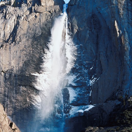 Yosemite National Park is home to some of the country's most spectacular waterfalls.